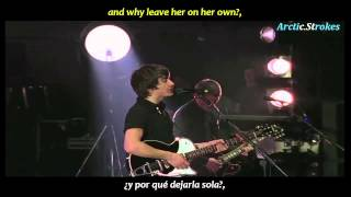 Arctic Monkeys - If you were there, beware (inglés y español)