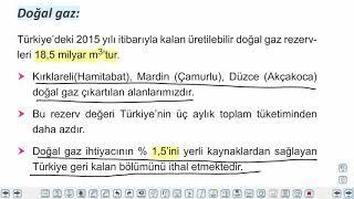 Eğitim Vadisi AYT Coğrafya 6.Föy Türkiye'de Madenler Konu Anlatım Videoları
