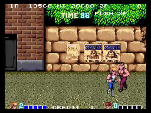 [TAS] Arcade Double Dragon by sugarfoot in 06:10,56