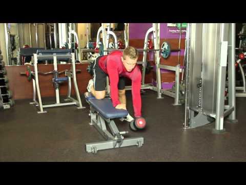 Ćwiczenia fizyczne terapii dla mięśni brzucha