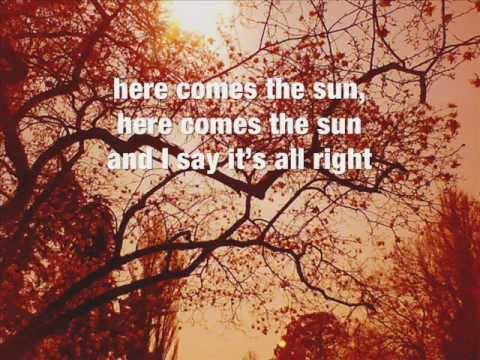 Here Comes the Sun chords & lyrics - Travis
