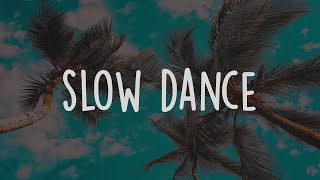 AJ Mitchell Ft. Ava Max   Slow Dance (Lyric Video)