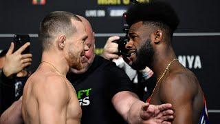 UFC 259: faceoffs intensi e carichi di adrenalina