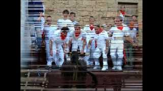 preview picture of video 'Fiestas de Septiembre en  Cáseda 2002'