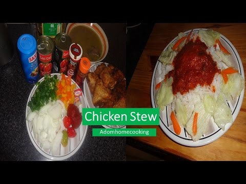 How To Make Chicken Stew