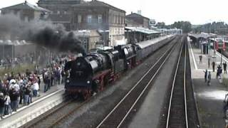preview picture of video 'Eisenbahn-Romantik Sonderzug: Hof und Oberkotzau'