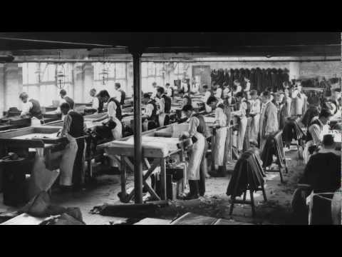 The first man to cut the leather for Hush Puppies