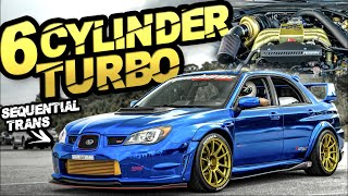 6Cyl Subaru STI?! 900HP AWD 3.0L Sequential Trans (CRAZY Backroad Launch!) by  That Racing Channel
