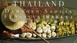 preview picture of video 'Damnoen Saduak Floating market, Thailand'