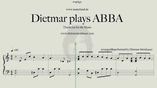 Dietmar plays ABBA  -  Thank you for the Music