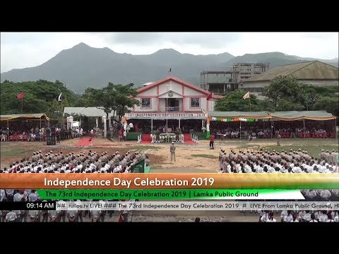 73rd Independence Day 2019 at Churachandpur