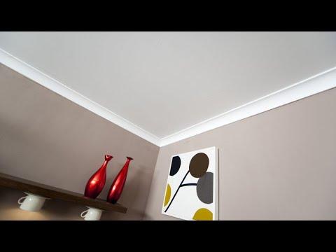 Cómo colocar unas molduras decorativas en el techo - Bricomania