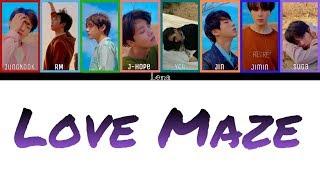 BTS + YOU (8 members) - LOVE MAZE