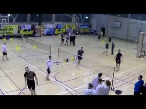 Badminton - półfinał Open Mężczyzn Netto Cup 2015