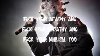 Damageplan - Fuck You (Featuring Corey Taylor) (Lyrics)