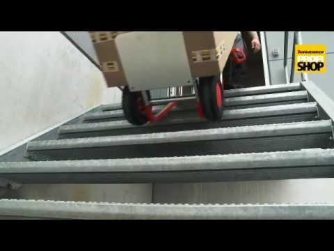 Sackkarre Ameise aus Aluminium Mit Gleitkufen, Tragkraft 200kg