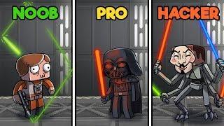 Star Wars Rise Of Skywalker Noob Vs Pro Vs Hacker Minecraftvideos Tv