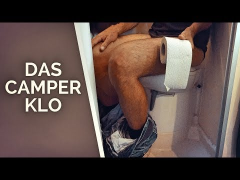 Das ultimative Camping Klo Video: Technik, Bio / Chemie, Reparatur von mobilen Toiletten