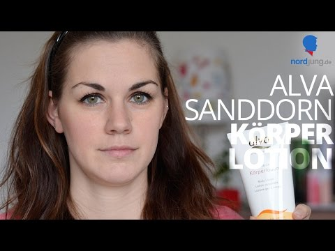 Alva Sanddorn Körperlotion Naturkosmetik