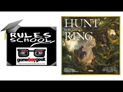 Learn How to Play Hunt for the Ring (Part 1) with the Game Boy Geek