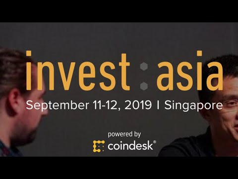 CoinDesk LIVE from Invest: Asia in Singapore Day 2