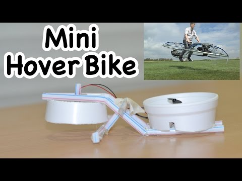 Make a Mini HoverBike,  Colin Furze style - Fun