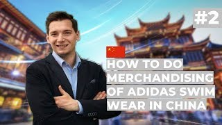 How to do merchandising of Adidas Swim Wear in China // Startup quiz with Morfus