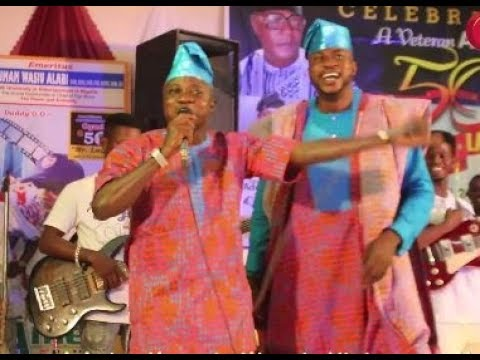 That Funny Moment Odunlade Adekola Calls Sanyeri Afonja Out On Stage and Forces Him To Speak English