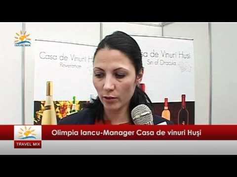 Targul International de Vinuri Goodwine 2012 Olimpia Iancu Manager Casa de vinuri Husi