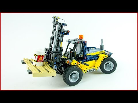 LEGO TECHNIC 42079 Heavy Duty Forklift - Brick Builder UNBOXING Speed Build