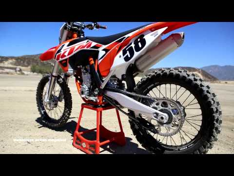 First Ride 2015 KTM 350SXF Motocross Action Magazine