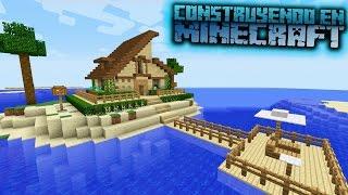 Como hacer una casa moderna y funcional para survival en for Como hacer una casa moderna y grande en minecraft 1 5 2