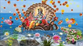 Sri Vishnu Stotra composed by Sri Bharati Tirtha Swamiji Sringeri