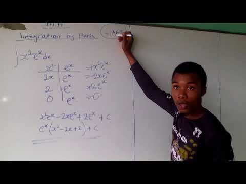 EASIER WAY TO SOLVE INTEGRATION BY PARTS