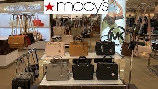 MACYS DESIGNER HANDBAGS $ PRICES * MICHAEL KORS * COACH | Shop With Me Fall 2019