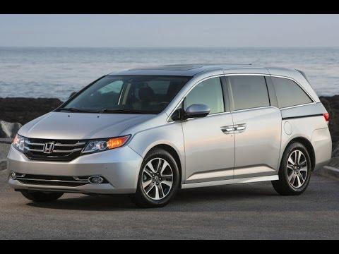 2015 Honda Odyssey Start Up and Review 3.5 L V6