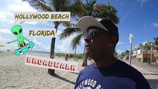 Weekend stay at Hollywood Beach, Florida [BroadWalk]