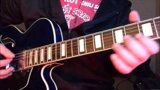 Meth lab zoso sticker - DGDGBd Guitar intro tutorial