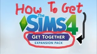 Install Sims 4 *Get Together* Torrent Download | 2017