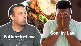 Haitian Cooks For Mexican Father-In-Law For The First Time