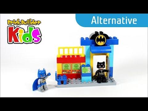 Vidéo LEGO Duplo 10545 : Batman et Catwoman