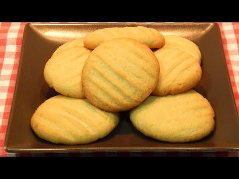 Receta de galletas crujientes de coco