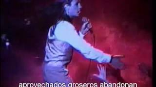 Christian death Figurative Theater live subtitulada