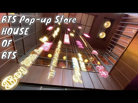 BTS Pop-up Store : House of BTS First Ever Experience in Seoul Korea | 방탄소년단 팝업스토어 | 02-12-2019