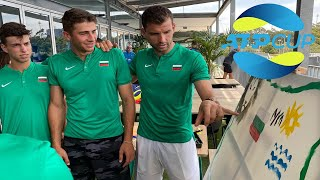 ATP Cup with captain Grigor Dimitrov