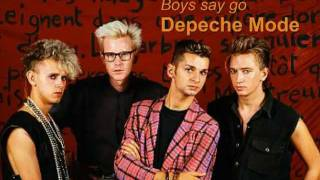 Depeche Mode - BOY SAY GO ( remix )