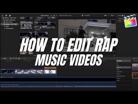 How I EDIT Rap / Hip-hop Music Videos | Final Cut Pro X
