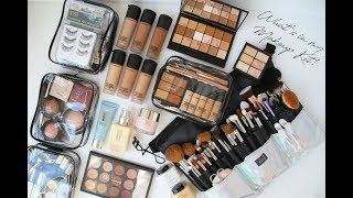 Whats In My Freelance Makeup Kit?! Must Haves! Updated #LolaaBeautyy