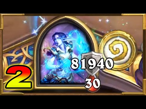 Hearthstone: 81940 Armor Druid Part 2 | The Most Crazy Thing Ever In Wild | Descent of Dragons  Wild