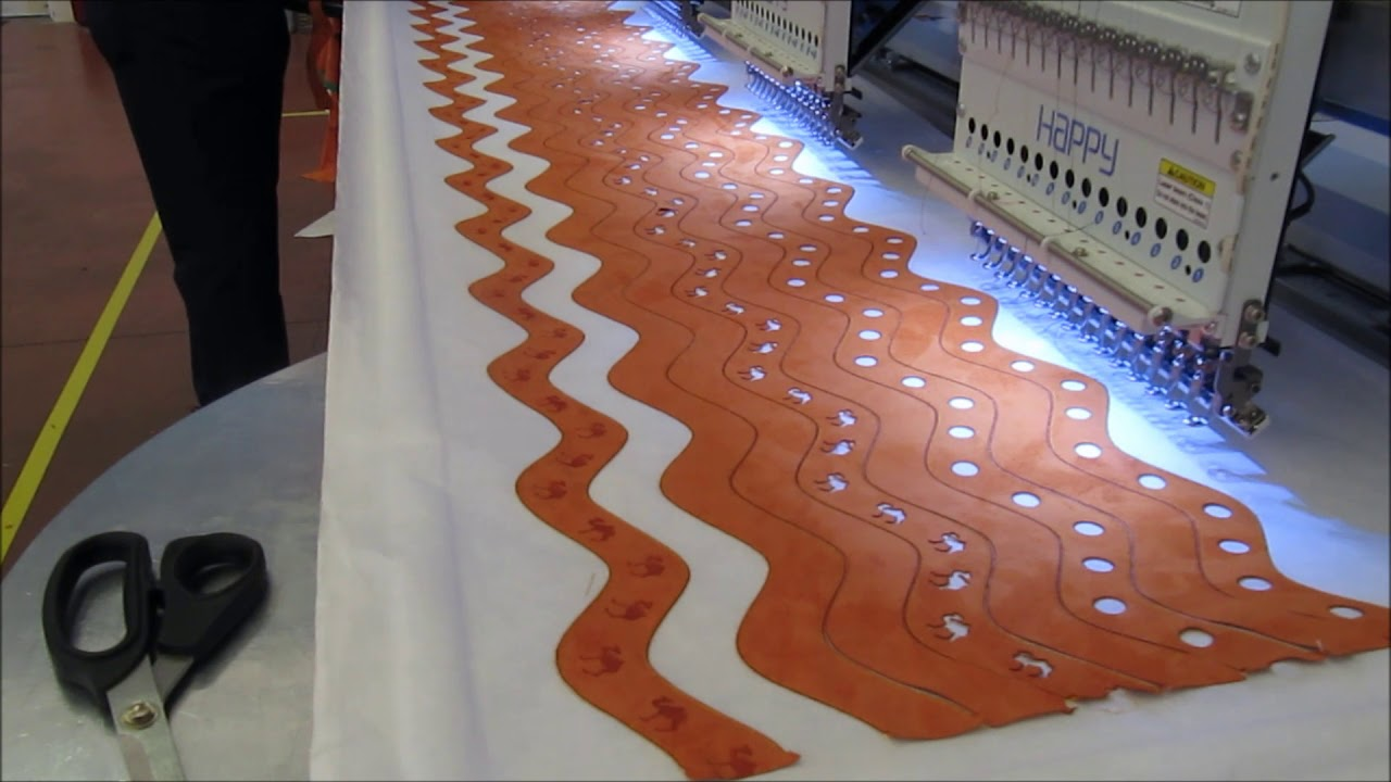 Proel Laser Bridge cutting circles part 2